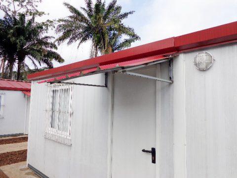 CAMPAMENTO DE CONSTRUCCIONES PREFABRICADAS