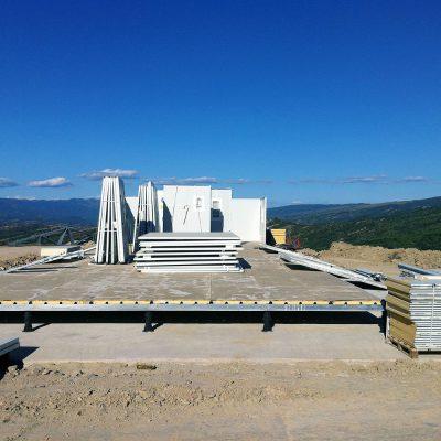 CONSTRUCCIÓN PREFABRICADA DE OFICINAS