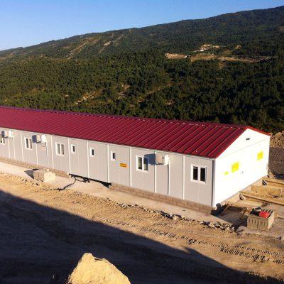 CONSTRUCCIÓN MODULAR PREFABRICADA DE OFICINAS