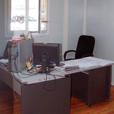 CAMPAMENTO DE OFICINAS EN HUESCA