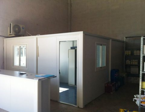 oficina prefabricada Fertydeco calatayud