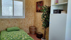 dormitorio de vivienda en calatayud