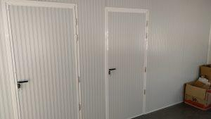 vista de las habitaciones de la oficina de mores