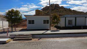 vista exterior de la oficina de mores