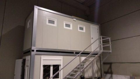 caseta prefabricada para obra en zaragoza