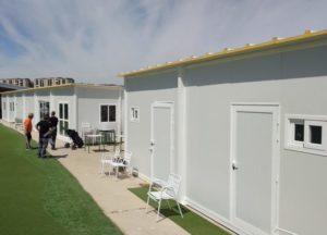 cafeteria y oficinas prefabricadas en logroño