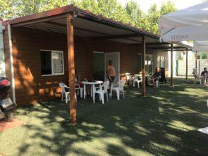 cafeteria prefabricada para camping
