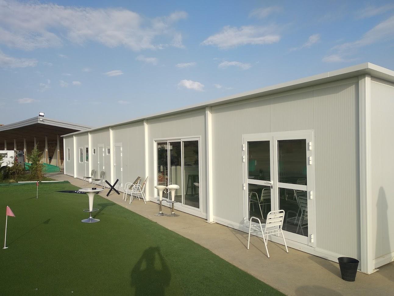 Cafeteria y oficina prefabricada en zaragoza - Casas prefabricadas en zaragoza ...