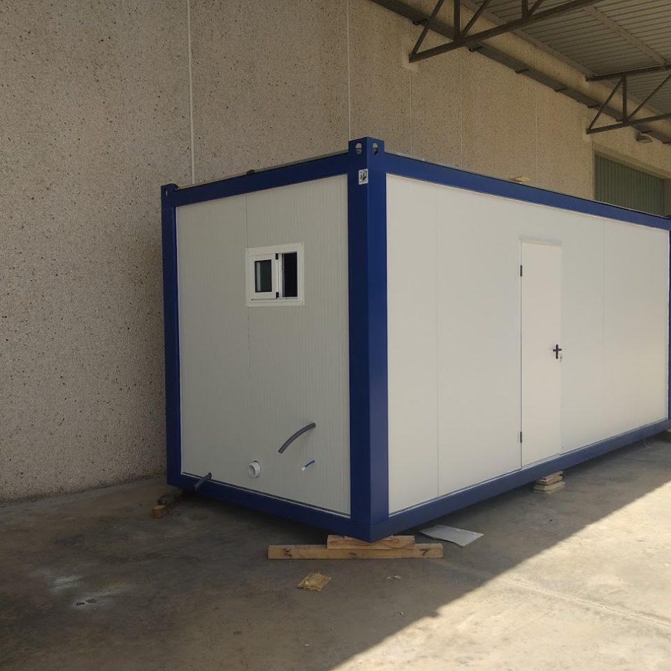 venta de caseta de obra prefabricada en zaragoza