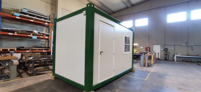 caseta de obra prefabricada de 4 x 2,4