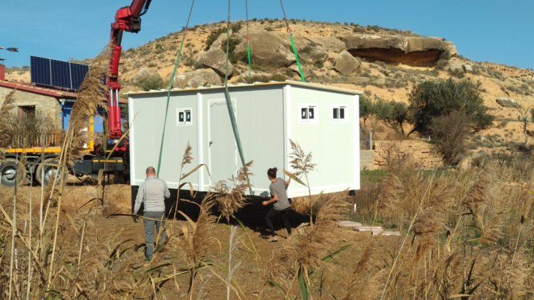 transporte modulo prefabricado en zaragoza