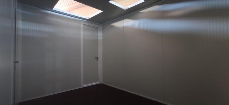 interior remolque con panel sandwich